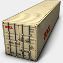 Icon: OOCL, container-2 antrepo, Pixel: 128 x 128 px
