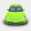 Icon: NewBeatle, cars archigraphs, Pixel: 128 x 128 px