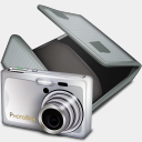 Icon: Photo Box, bagg-and-boxs babasse, Pixel: 128 x 128 px