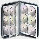 Icon: Book CD, bagg-and-boxs babasse, Pixel: 128 x 128 px