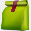 Icon: Corbeille Propre Vide Box, bagg-and-boxs babasse, Pixel: 128 x 128 px