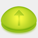 Icon: Signs Arrow Up, summer-collection benjigarner, Pixel: 128 x 128 px