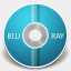 Icon: BLURAY, aire gakuseisean, Pixel: 64