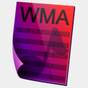 Icon: WMA-Sound, simple harwen, Pixel: 128 x 128 px