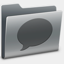 Icon: Chats, hyperion icondesigner.net, Pixel: 128 x 128 px