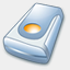 Icon: Hard Drive, pastel iconica, Pixel: 64