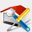 Icon: Car Repair, gis-gps-map icons-land, Pixel: 128 x 128 px