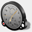 Icon: altimeter, aviation iconshock, Pixel: 128 x 128 px