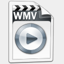 Icon: Video WMV, aero-vista mayosoft, Pixel: 128 x 128 px