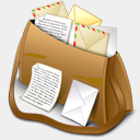 Icon: All Mail, email-me mayosoft, Pixel: 128 x 128 px