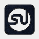Icon: stumbleupon-square, blue-jeans-social-media mysitemyway, Pixel: 128 x 128 px