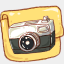 Icon: Hp Folder Camera Photo, harmonia-pastelis raindropmemory, Pixel: 64