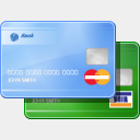Icon: Credit Card, finance visualpharm, Pixel: 128 x 128 px