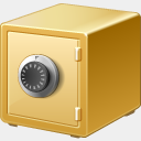 Icon: safe, finance visualpharm, Pixel: 128 x 128 px