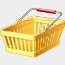 Icon: shopping-cart, finance visualpharm, Pixel: 128 x 128 px
